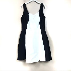 New with tags Halston heritage black white dress